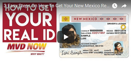 new mexico dmv drivers license